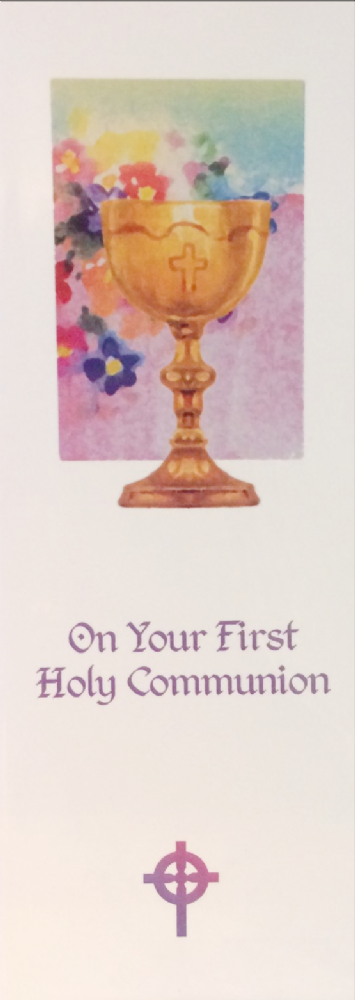 On your First Communion (Peter 5:7)